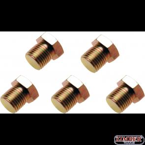 Пробки за картер M15x 1.5 mm 5 бр. (126-SM15) - BGS technic