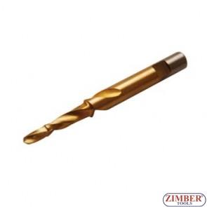 Резервна конусна бургия 9*5.5mm за скъсани подгревни свещи - ZR-36ST955 -ZIMBER - TOOLS