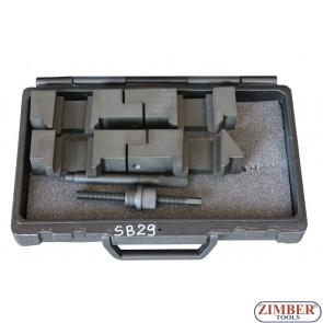 Инструмент за зацепване разпределителния вал на BMW V8 - M60, M62, M62TU, ZR-36ETTSB29 - ZIMBER TOOLS.