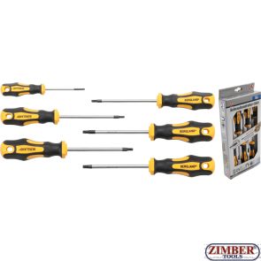 Отвертки комплект T-Star T10 - T30,  6 части (35826) - BGS technic PROFESSIONAL