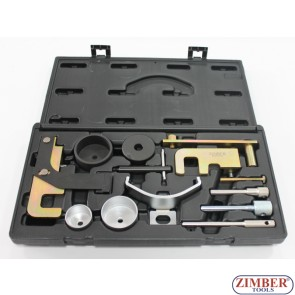 ПОД НАЕМ - Комплект за зацепване на дизелови двигатели DCI за Renault, Opel, Nissan, Dacia - 1.5, 1.9, 2.2, 2.5 - ZR-36ETTS146 - ZIMBER TOOLS