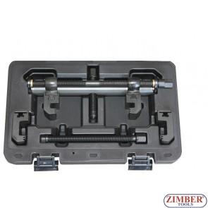Скоба за демонтаж на пистови шайби за колянов вал, динамо , климатици, водни помпи и др. 40-168mm- ZR-36PFRDP02 - ZIMBER TOOLS.