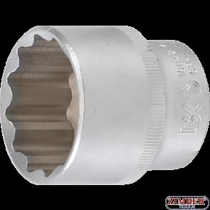 Вложка 30-mm 1/2 дванадесетостенна-10646-  BGS technic
