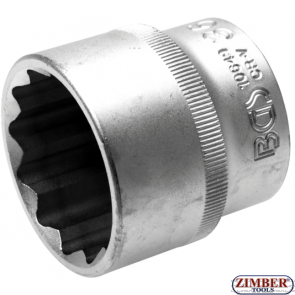 """Вложка 36 mm.12-стенна (1/2"""") - 10649 -Bgs technic."""