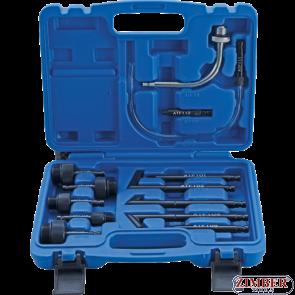 Комплект накрайници за смяна на масло на скоростни кутии 13-части  -   9992-4 - BGS- technic.