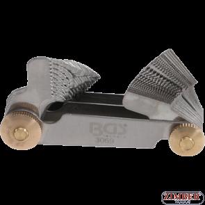 Резбомер с 52 пластини К-Т - 0.25-6.00мм + 4-62- 3069- BGS-technic.