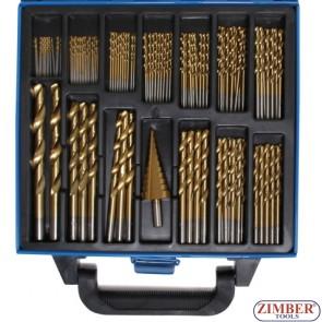 Комплект стъпаловидни свредла Ø 4 - 12 / 4 - 20 mm | 2 - 5 mm | 10-части -1686 - BGS technic