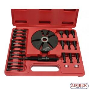 Универсален к-т за демонтиране на ремъчни шайби, ZR-36BPI - ZIMBER-TOOLS