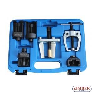Универсален комплект за изваждане на чистачки 6бр.- ZR-36UWPS6 - ZIMBER TOOLS
