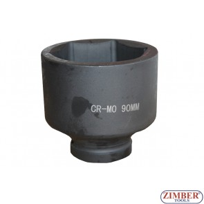 "Вложка ударна шестостенна 1""90mm, ZT-01E6054  - SMANN TOOLS"