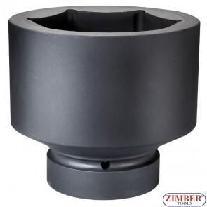 """Вложка ударна шестостенна 1"""" 95mm - (ZR-08IS8095M) - ZIMBER -TOOLS"""