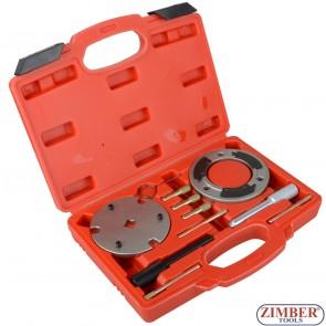 К-т за зацепване на двигатели Ford 2.0 / 2.4 TDCi - Locking Tool Set Ford 2.0 / 2.4 TDCi - ZK-215