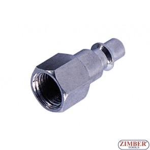 """Накрайник за въздух 1/2"""" стомана-ZIMBER"""