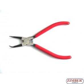 "Зегер клещи 175mm-7"" криви отварящи 1бр - ZIMBER (ZR-19CPEBJ07)"