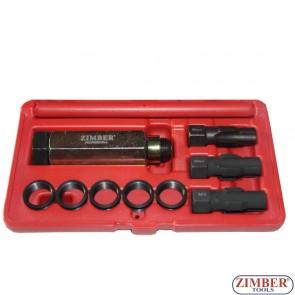 Комплект за възстановяване на резбите на датчици ламбда сонда M18 X 1.5, ZR-36OSTS181510 - ZIMBER TOOLS