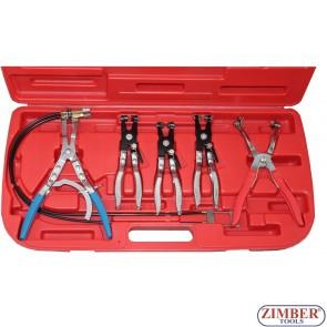 Клещи за скоби за водни съединения - ZIMBER (ZR-36PUAD)