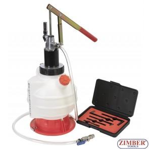 Помпа за наливане на масло в трансмисии, диференциали. ZR-36TFS02 - ZIMBER TOOLS.