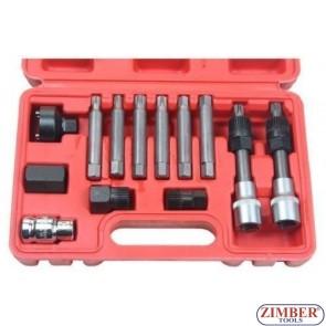 К-т ключове за демонтаж на шайбите на алтернатори 13 части (ZT-04802) - SMANN TOOLS.
