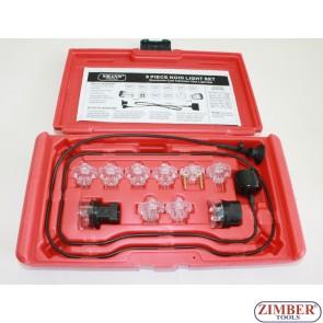 Тестер за наличието на електрически сигнал в инжекторите, ZT-05077 - SMANN TOOLS.