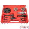 Универсален к-т за демонтаж на ремъчни шайби за автоклиматици - ZK-236