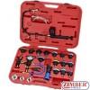 К-т за проверка на херметичността на радиатори 25 части - ZIMBER-TOOLS