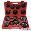 К-т чашки за маслен филтър 15 части, ZR-36OFWS15 - ZIMBER-TOOLS