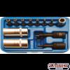 Комплект за обслужване на климатици 12 части (2275) - BGS technic.