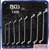 Ключове лули двустранни 6 x 7 - 20 x 22 mm 8 бр. (1209) - BGS technic