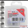 Втулки за възстановяване на резби M20 x 1.5 mm 5 бр. (9434-1) - BGS technic
