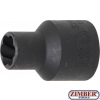 "Вложка екстрактор за отвиване на повредени болтове и гайки 1/2"" 10 mm (5266-10) - BGS technic"