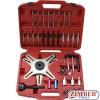 Пълен к-т  за монтаж и демонтаж на саморегулиращи се съединители SAC, ZT-04752 - SMANN TOOLS